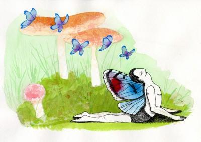 Fairy Guy Mushrooms