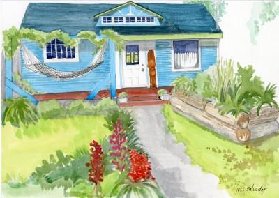 Ward Island Cabin Entry