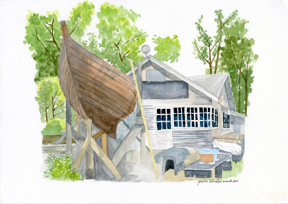 Ward Island Cabin Boat