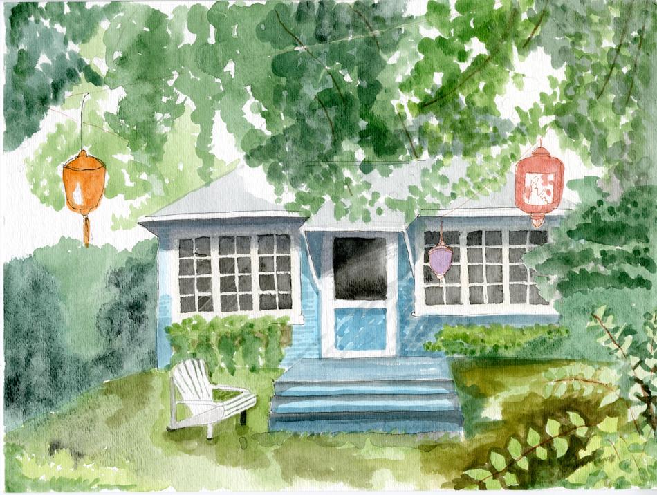 Ward Island Cabins