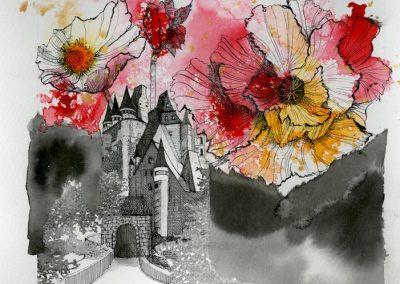 Imaginary Rock Garden – Remembrance Floral Castle