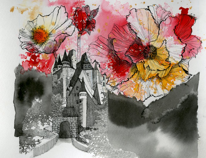 Imaginary Rock Garden – Remembrance Floral Castle