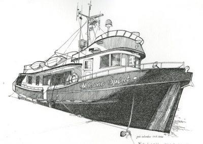 Wooden Boat 'Welcome Spirit'